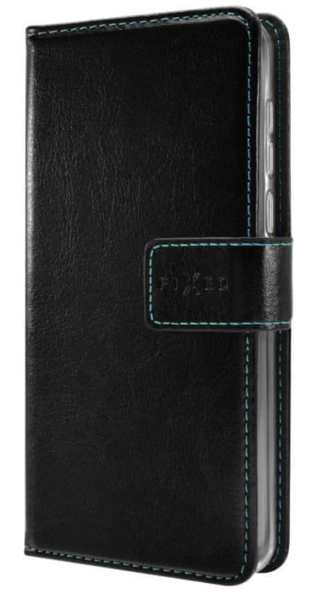 FIXED Pouzdro typu kniha Opus pro Realme 6i/C3/5, černé FIXOP-544-BK
