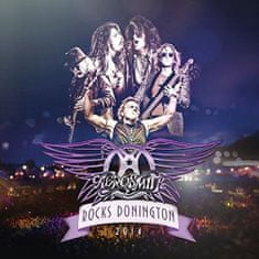 Aerosmith: Rocks Donington 2014 (3x LP + DVD) - LP+DVD