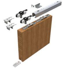 HELM Sada kování pro posuvné dveře 2100 mm do 50 kg