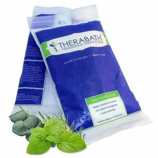 THERABATH® Parafín eukalyptus-rozmarýn-máta, 2,7 kg, perličky