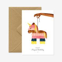 Decor By Glassor Narozeninové přání Piñata