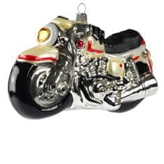 Decor By Glassor Vánoční ozdoba motorka