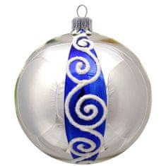 Decor By Glassor Vánoční skleněná koule (Velikost: 8)