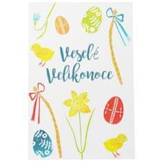 Decor By Glassor Velikonoční pohlednice