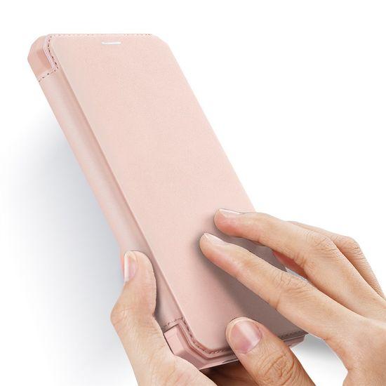 Dux Ducis Skin X knjižni usnjeni ovitek za iPhone 12 Pro Max, roza