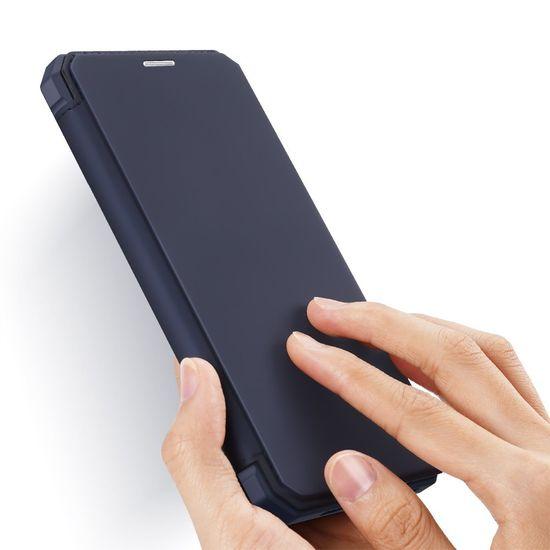 Dux Ducis Skin X knjižni usnjeni ovitek za iPhone 12 Pro Max, modro
