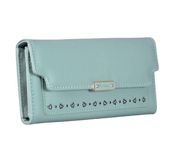 Aaryans Dámská peněženka PT19-1399 modrá