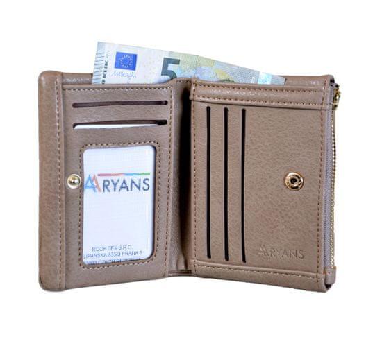 Aaryans Dámská peněženka PT19-1384 kávová