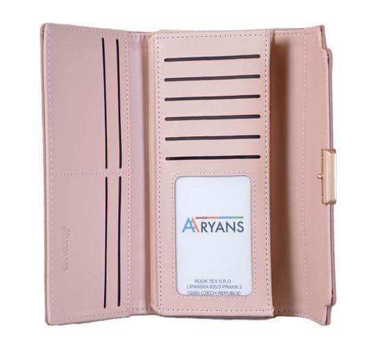 Aaryans Dámská peněženka PT19-1399 růžová