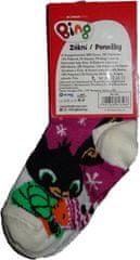 Bing Dívčí ponožky s králíčkem Bingem fialové. Vel:27 - 30