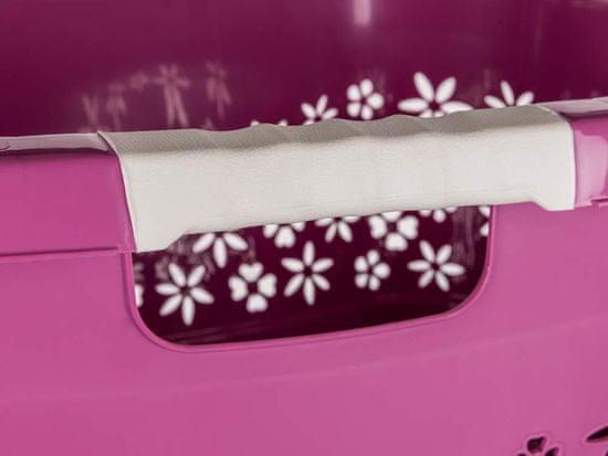 keeeper kosz na pranie 49 l, 65 x 45 x 28,5 cm, malinowy