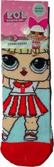 L.O.L. Surprise! Dívčí ponožky L.O.L. s panenkou s červenou sukní., 23 - 26