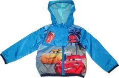 Disney Chlapecká modrá bunda s autama Cars Vel:98