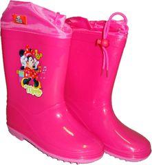 Disney Dívčí růžové gumáky s Minnie., 32