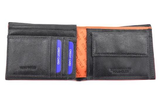 Harvey Miller Pánská kožená peněženka z pravé kůže Harvey Miller - antracit