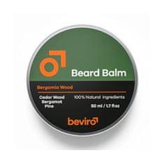 Be-Viro (Beard Balm) z vonjem cedre, bergamota in borovine (Beard Balm) (Objem 50 ml)