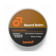 Beviro Balzam na fúzy s vôňou grepu, škorice a santalového dreva (Beard Balm) (Objem 50 ml)