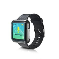 HNSAT WR-19 Digitální hodinky s diktafonem a detekcí zvuku - Variant: 4 GB