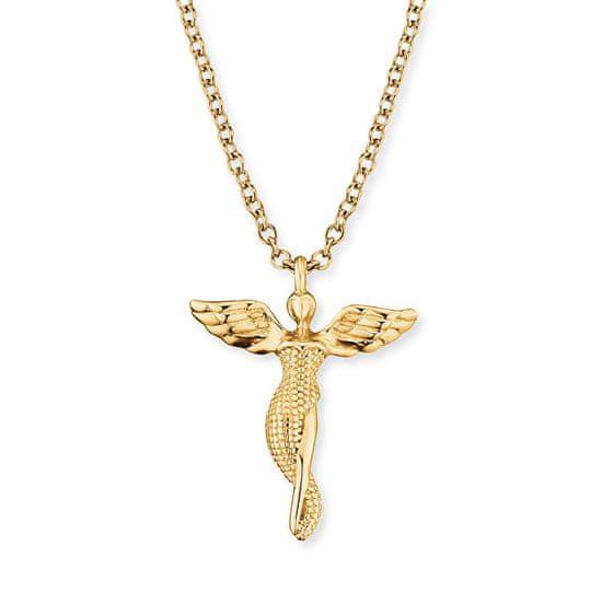 Engelsrufer Pozlacený náhrdelník Anděl ERN-LILANGEL-G stříbro 925/1000