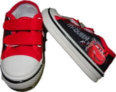 Cars Chlapecké červené boty s Autem MCQUEEN na suchý zip., 26