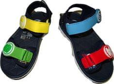 Cars Chlapecké sandály s tématem Avengers na suchý zip.