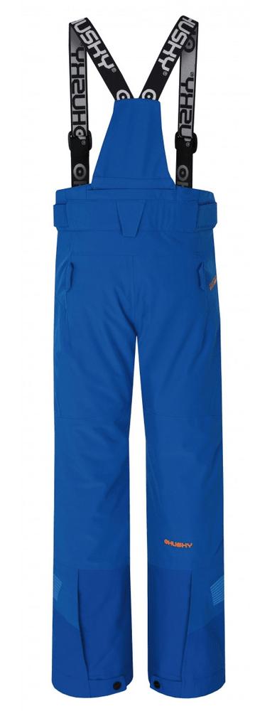 Husky chlapecké lyžařské kalhoty Ski Kids Gilep 152 modrá