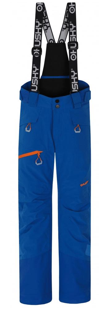 Husky chlapecké lyžařské kalhoty Ski Kids Gilep 140 modrá
