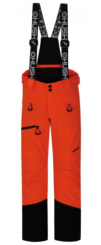 Husky dětské lyžařské kalhoty Ski Kids Gilep 122 oranžová