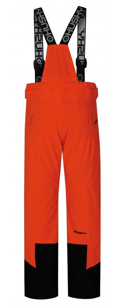 Husky dětské lyžařské kalhoty Ski Kids Gilep 134 oranžová
