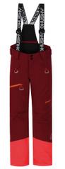 Husky dívčí lyžařské kalhoty Ski Kids Gilep 122 vínová