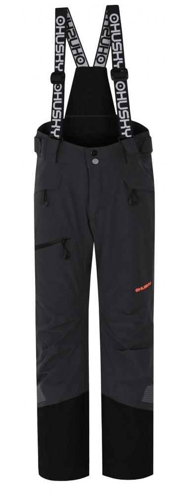 Husky dětské lyžařské kalhoty Ski Kids Gilep 140 tmavě šedá