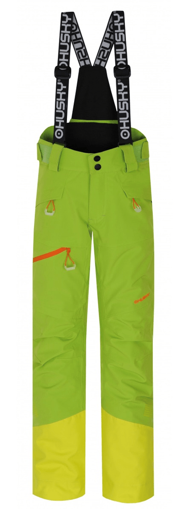 Husky dětské lyžařské kalhoty Ski Kids Gilep 134 zelená