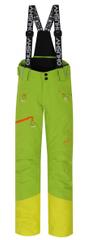 Husky dětské lyžařské kalhoty Ski Kids Gilep 122 zelená