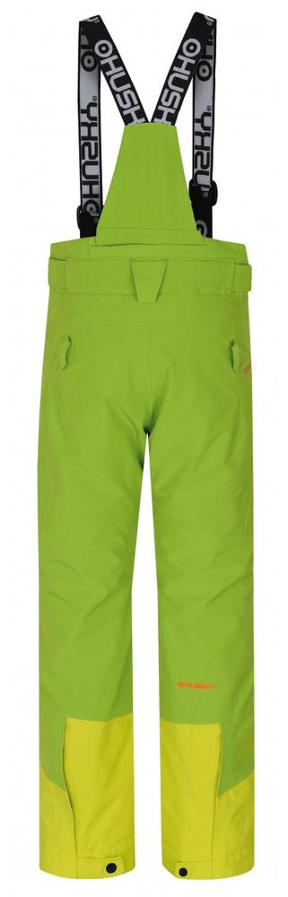 Husky dětské lyžařské kalhoty Ski Kids Gilep 140 zelená