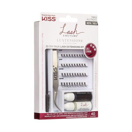 KISS Lash Couture LuXtension komplet grozdov
