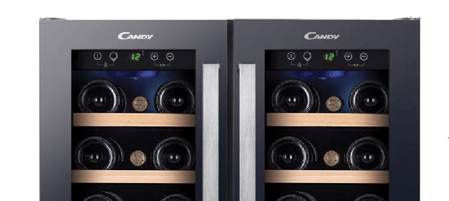 Vinotéka Candy CCVB 60D displej