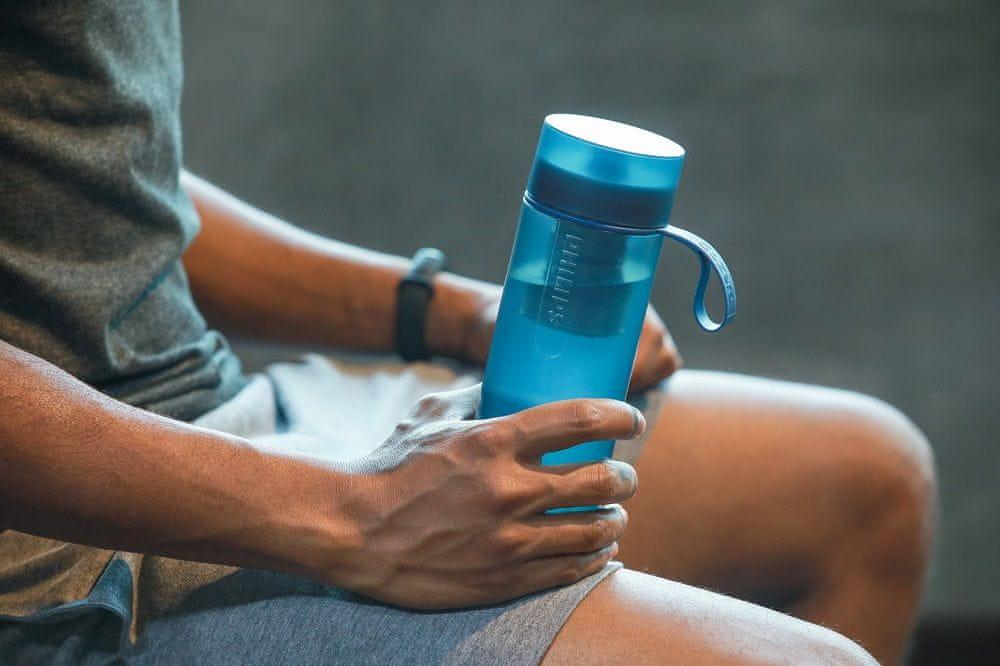Philips Fitness filtrační láhev AWP2712BLR/10, modrá