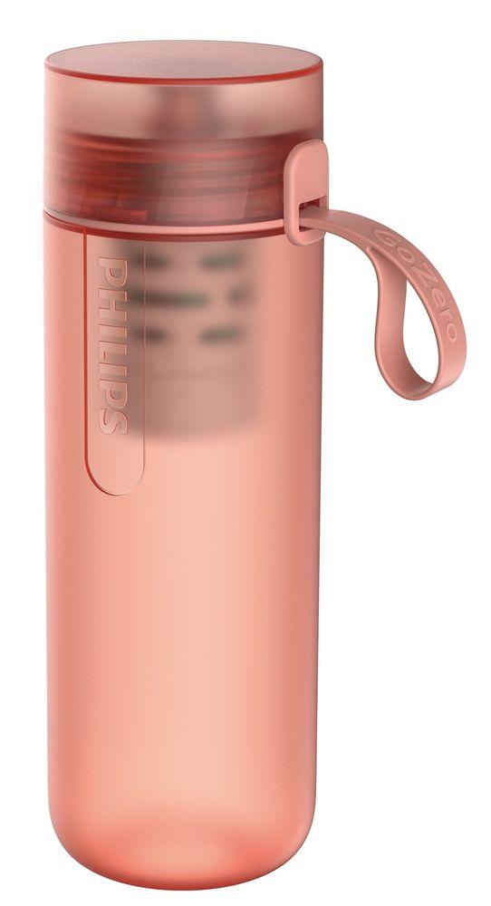 Philips Fitness filtrační láhev AWP2712RDR/10, červená