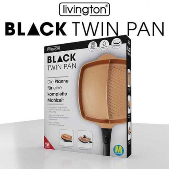Mediashop Livington Black Twin Pan ponev