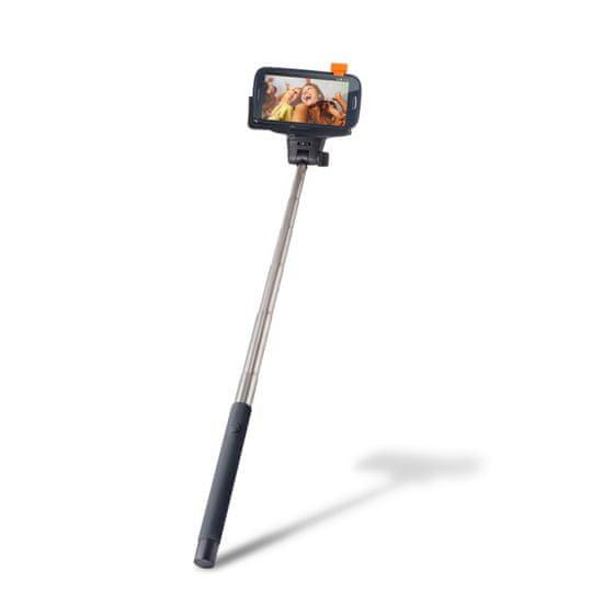 setty. Selfie tyč s Bluethooth DW_000026, černá