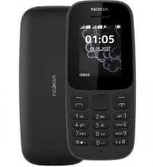 Nokia 105 telefon, Dual Sim, 4MB/4MB
