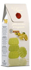 Le Preziose  Želatinové bonbóny s ovocnou šťávou z bergamotu, 200g
