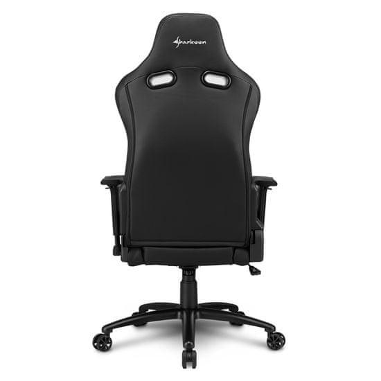 Sharkoon Elbrus 3 gamerski stol, črno-moder