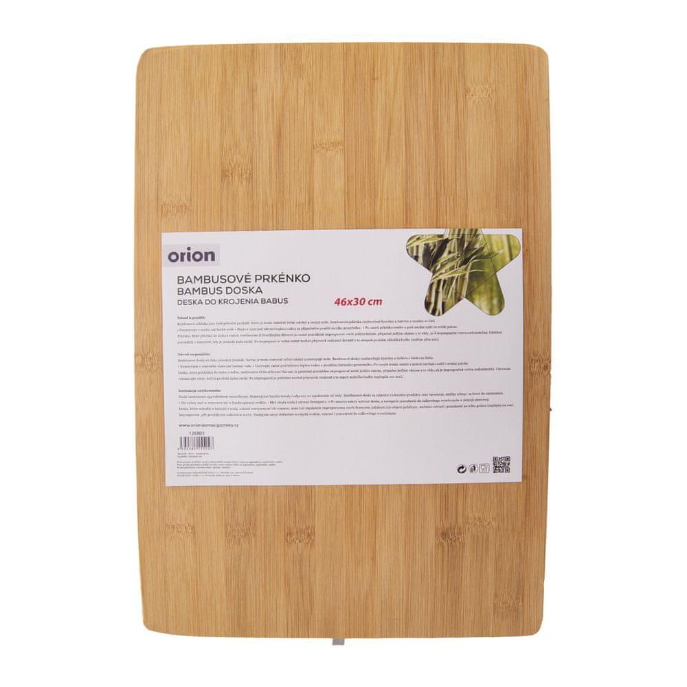 Orion Prkénko bambus 46x30x5 cm