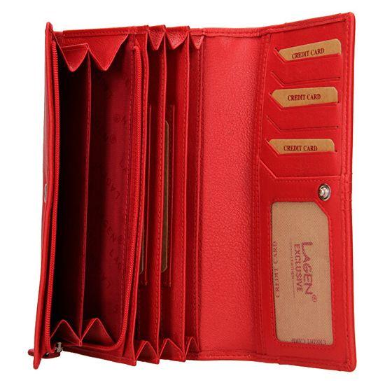 Lagen Blc/4735/220 Red női bőr pénztárca