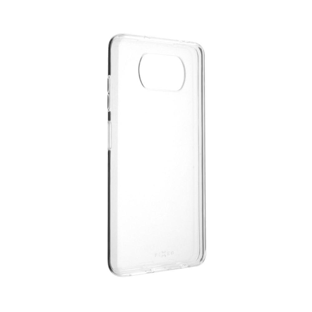 FIXED TPU gelové pouzdro pro Xiaomi Poco X3 FIXTCC-620, čiré