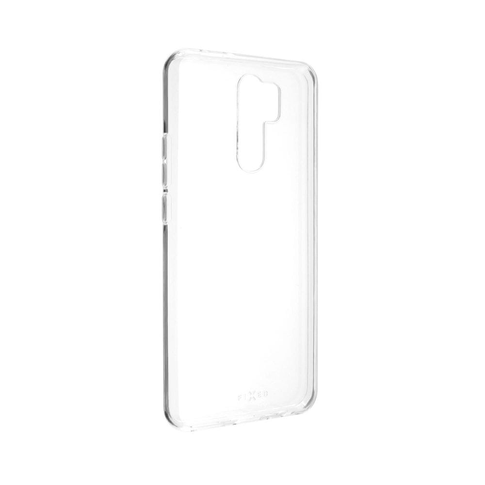 FIXED Ultratenké TPU gelové pouzdro Skin pro Xiaomi Redmi 9, 0,6 mm FIXTCS-516, čiré