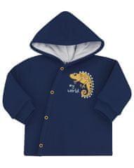 Nini chlapecká mikina z organické bavlny ABN-2346 62 tmavě modrá