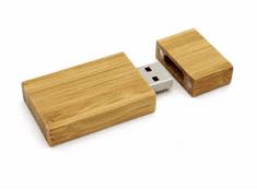 CTRL+C Pendrive eco wood BAMBUS CARBON, 16 GB, USB 2.0