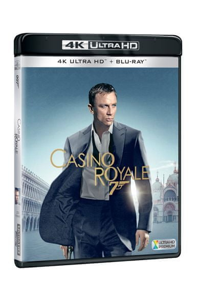 Casino Royale (2 disky) - Blu-ray + 4K Ultra HD